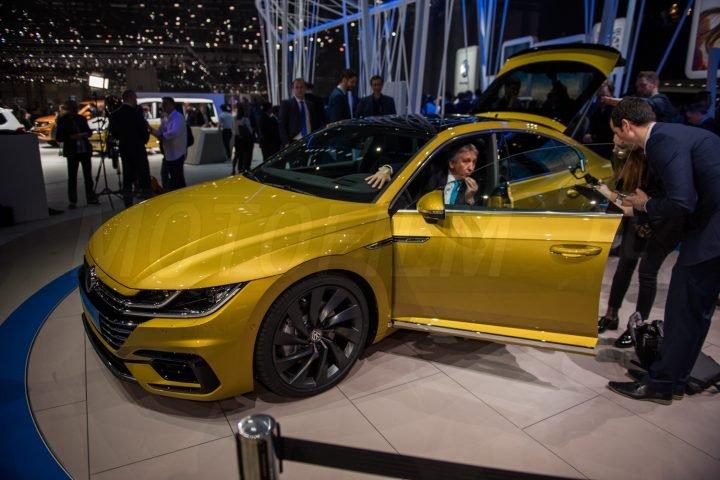 Volkswagen Arteon Genewa 2017