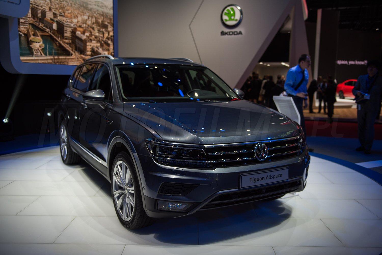 Volkswagen Tiguan Allspace Genewa 2017