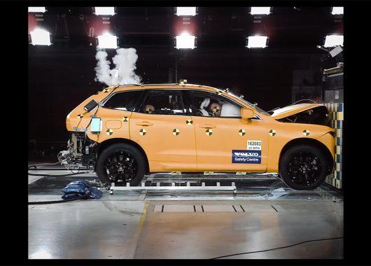 Volvo XC60 testy zderzeniowe