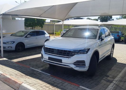 Volkswagen Touareg 2018 no camo