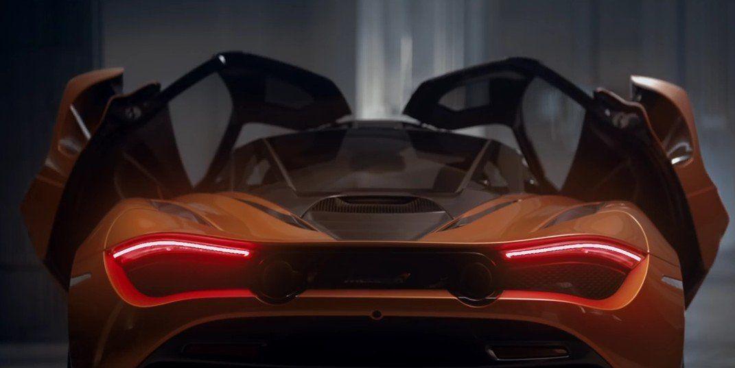 McLaren 720S sound