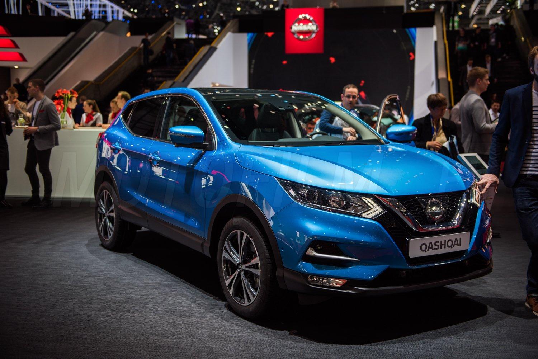 Nissan Qashqai 2017 Facelift