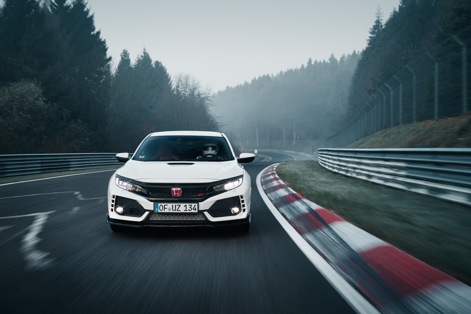 Honda Civic Type R 2018 Nurburgring