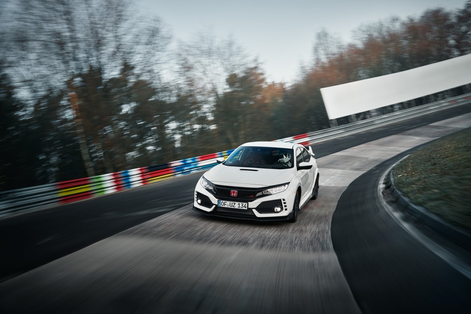 Honda Civic Type R 2018 Nurburgring
