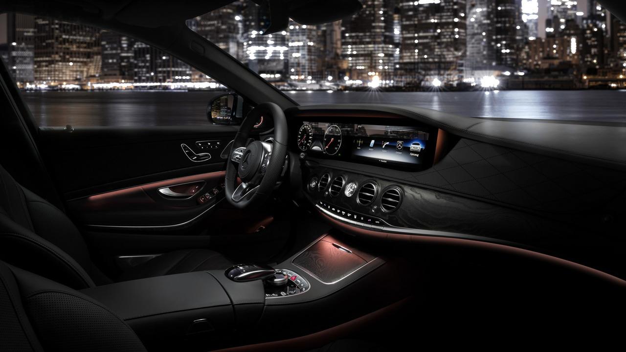 Mercedes Klasy S 2018 po faceliftingu