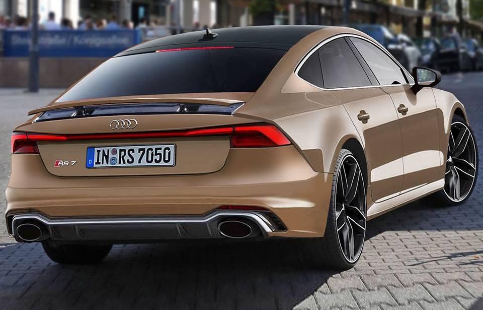 Audi RS7 Sportback 2019 render