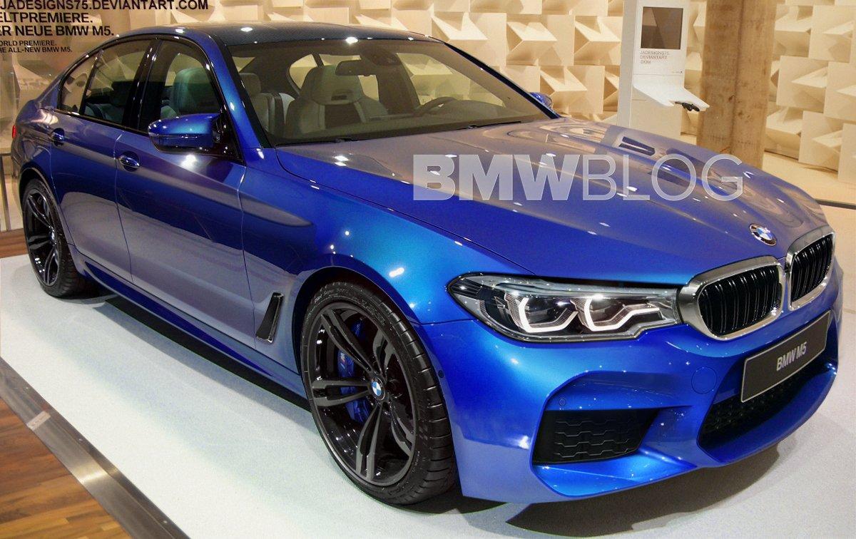 BMW M5 F90 rendering
