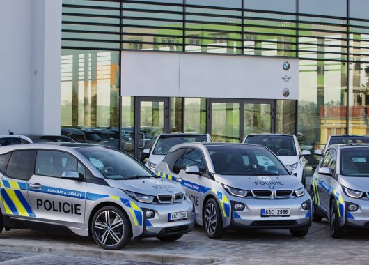 BMW i3 czeska policja
