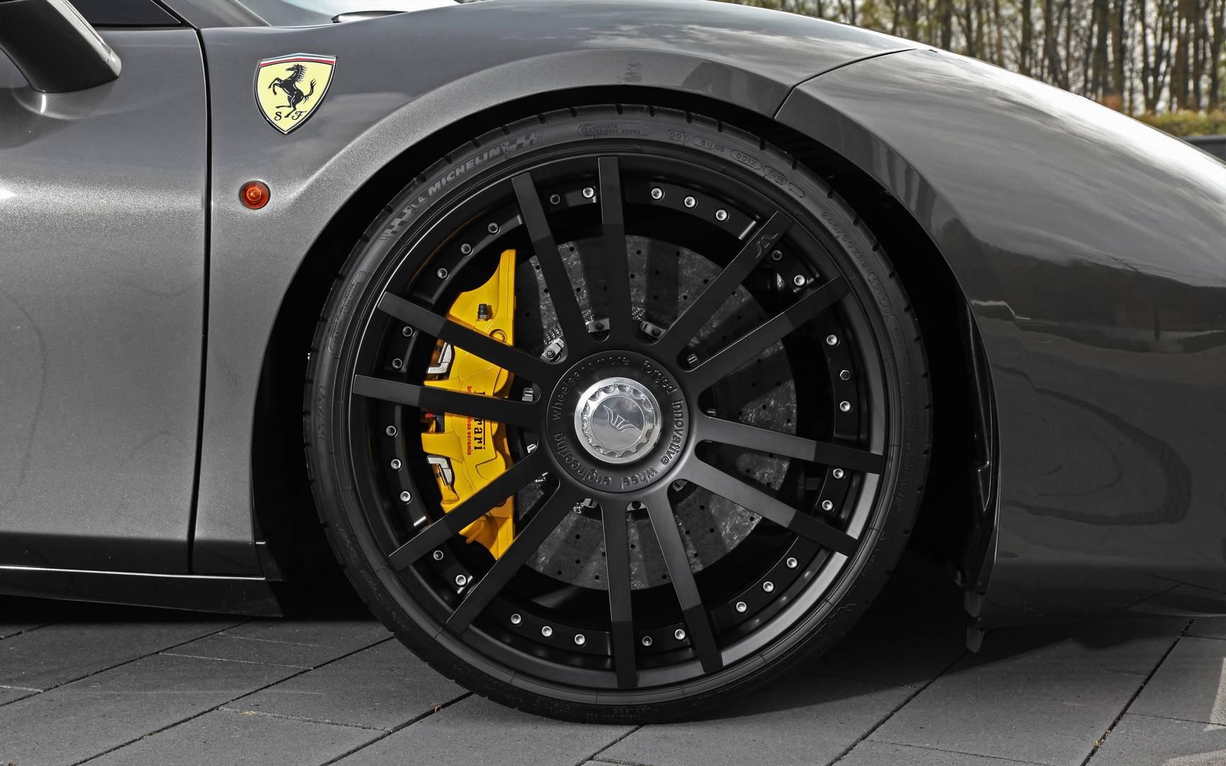Wheelsandmore Ferrari 488 Spider Triple Seven