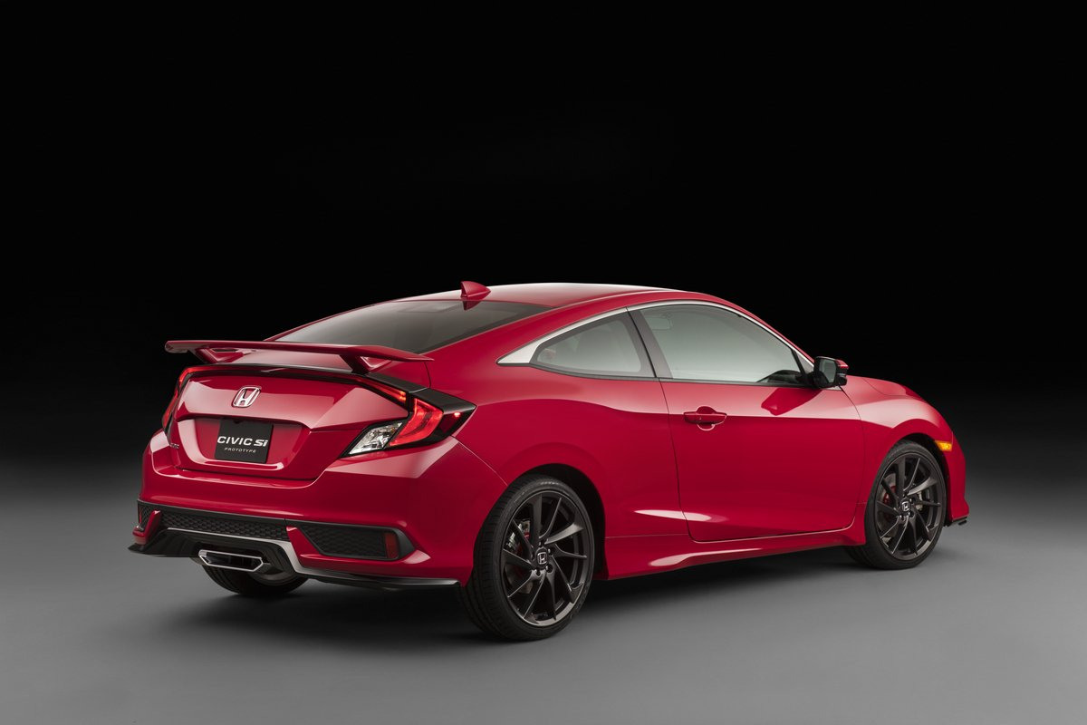 2016 Honda Civic Si Coupe Prototyp