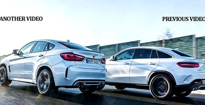 BMW X6 M kontra Mercedes-AMG GLE 63 S Coupe