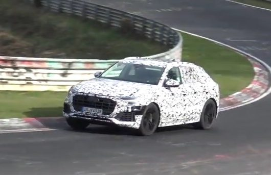 Audi Q8 spy nurburgring