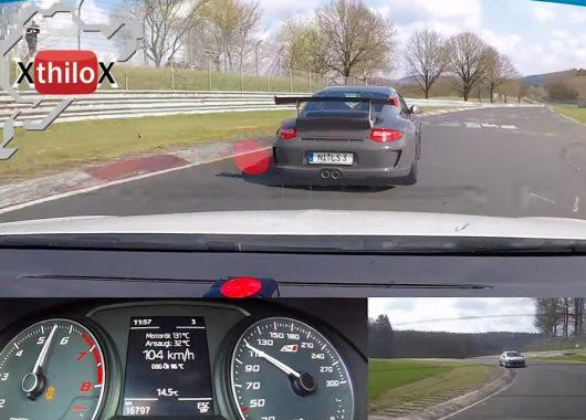 Leon Cupra goni Porsche 911 GT3 RS