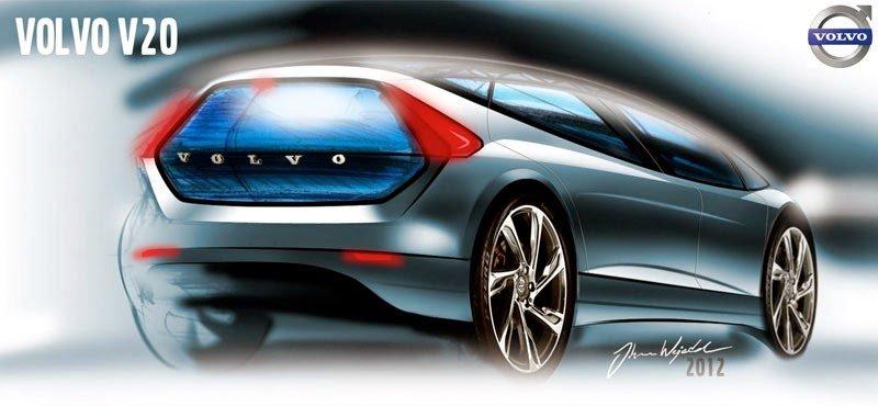 Volvo V20 render