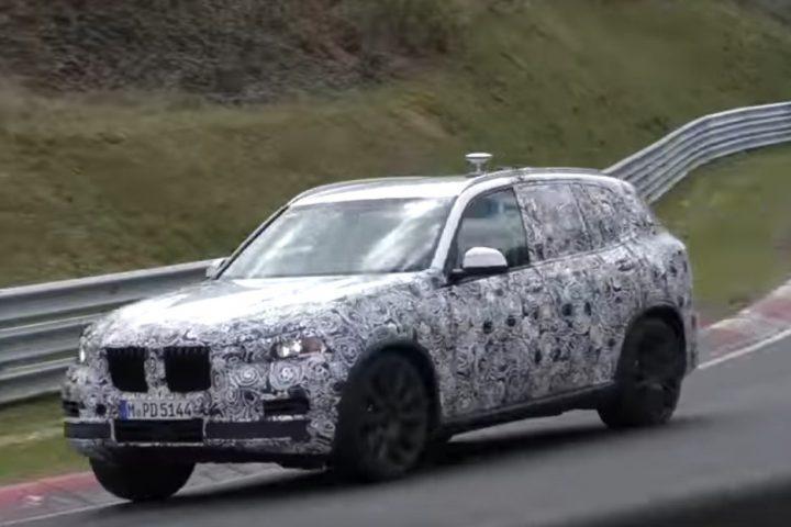 2018 BMW X5 50i spy