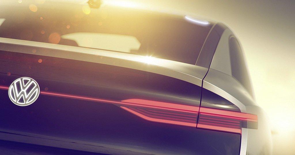 Elektryczny crossover Volkswagen I.D. Concept