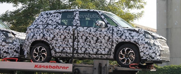 Fiat 500L 2018 Spy facelift