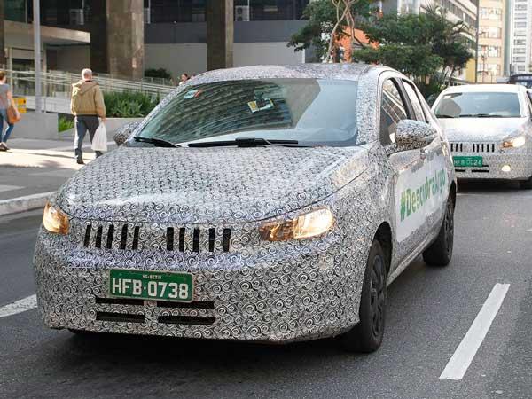 Fiat Argo spy