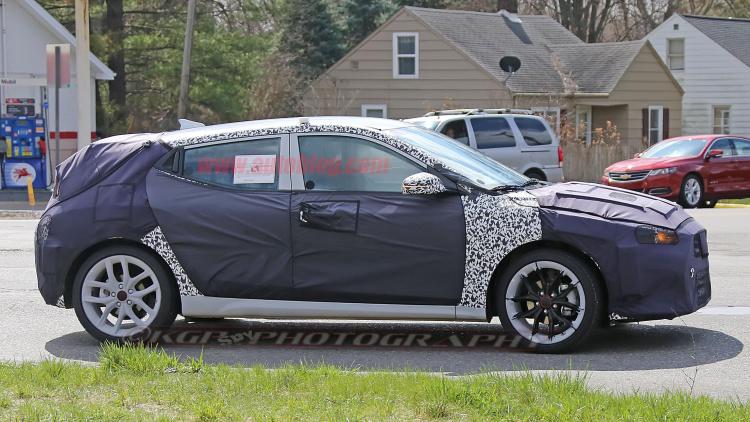 Hyundai Veloster 2018 spy
