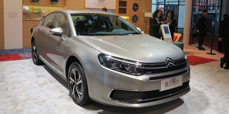 Citroen C5 Facelift china
