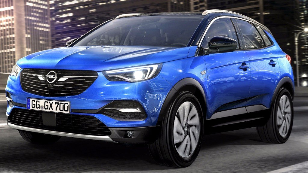2018 opel grandland x oficjalnie. Black Bedroom Furniture Sets. Home Design Ideas