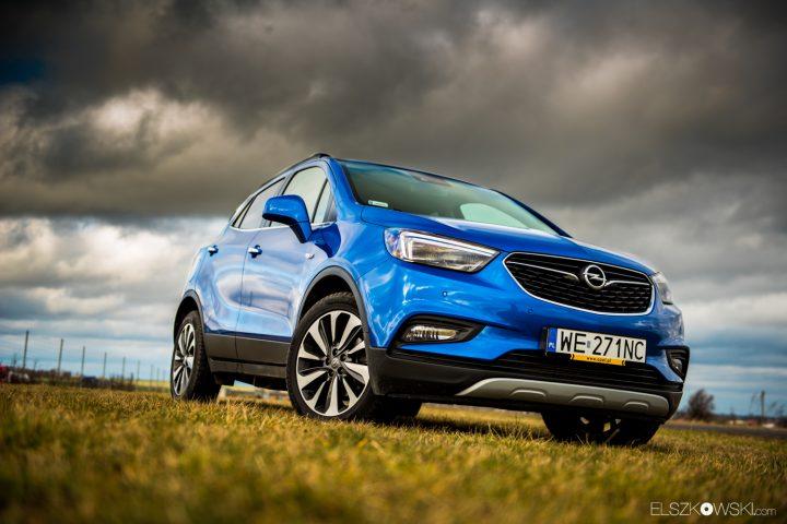 Opel Mokka X blue 1.4 152