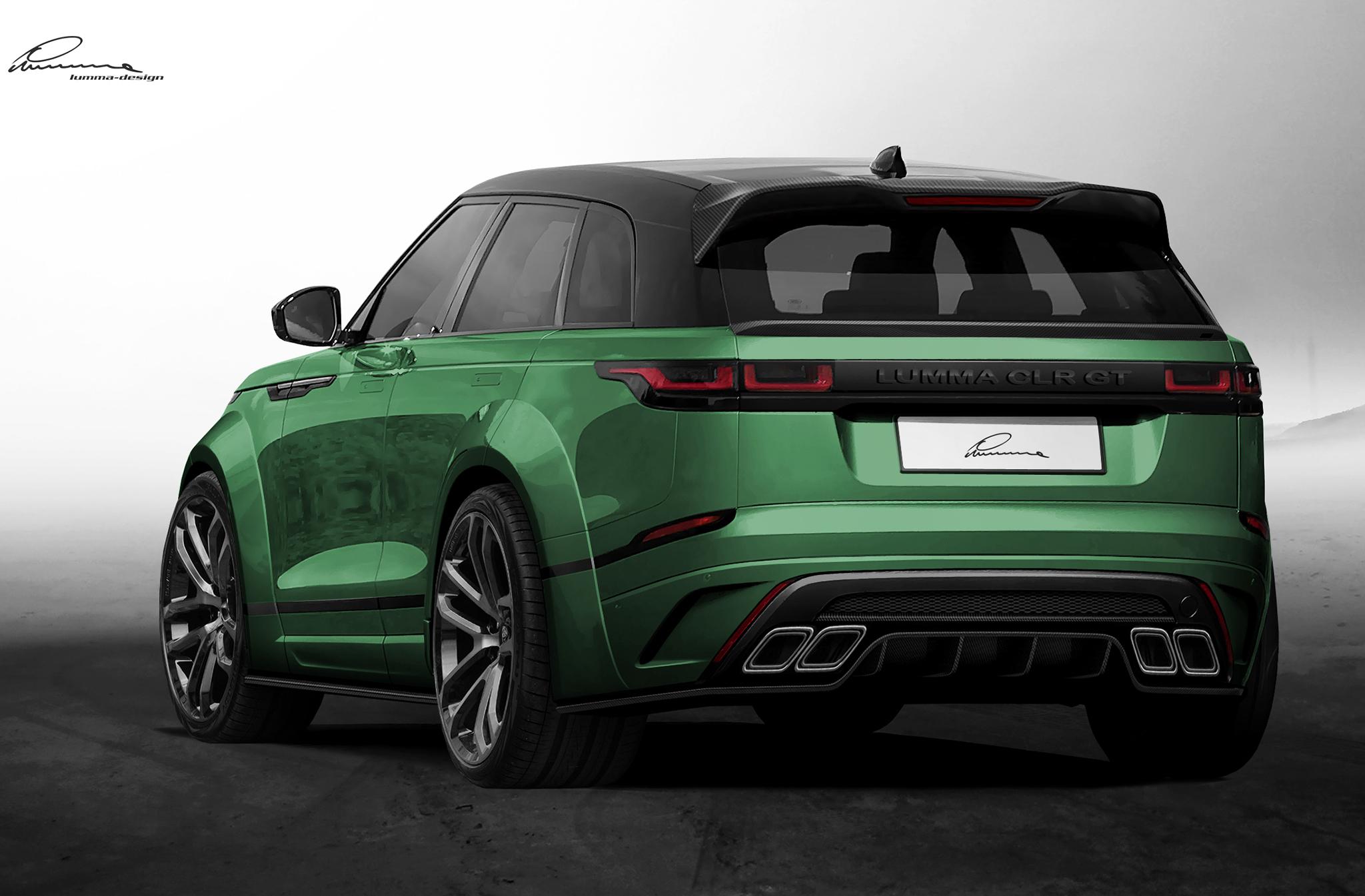 Range Rover Velar tuning