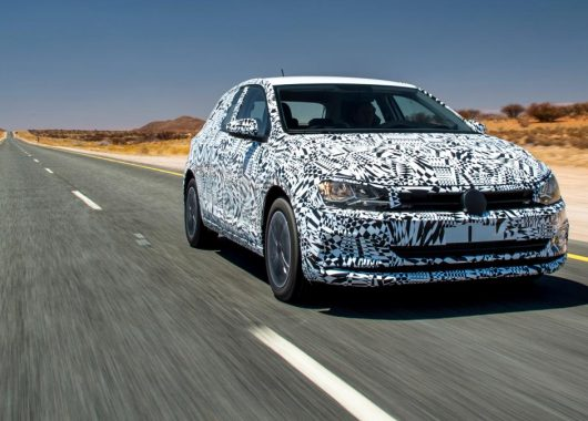 Volkswagen Polo 2018 test SPY