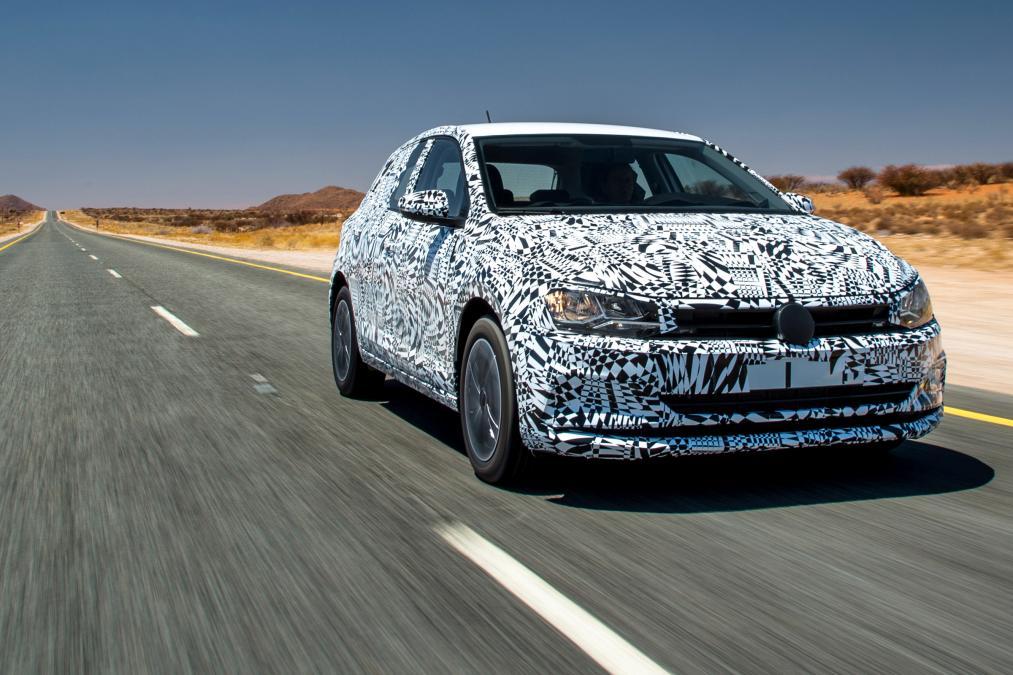 Volkswagen Polo 2018 test SPY