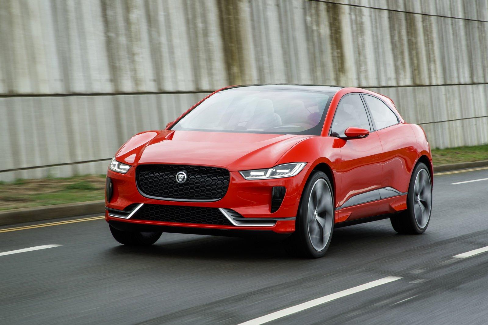 Jaguar I-Pace production