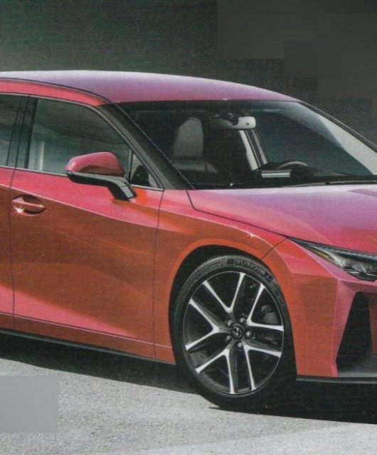 Lexus CT render