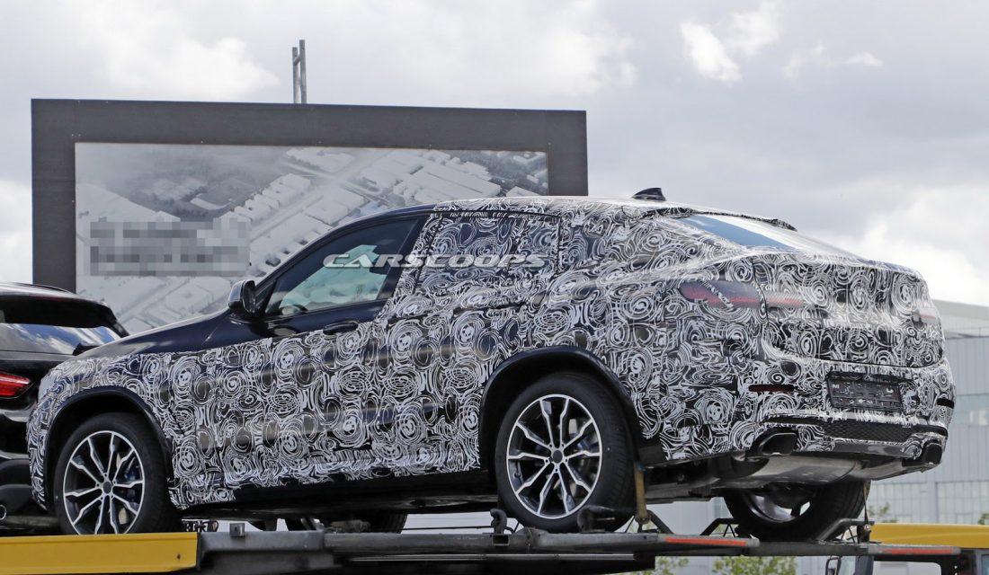 2018 BMW X4 spyshot