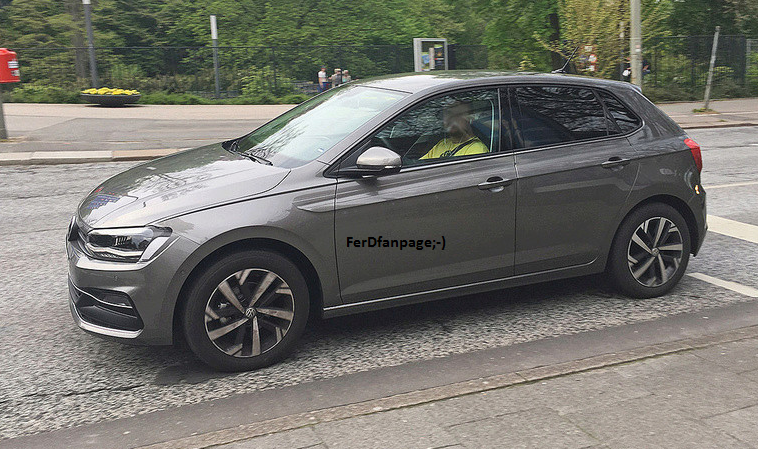 Volkswagen Polo 2018 spy
