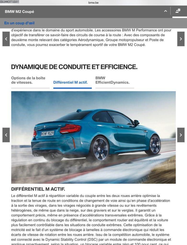 BMW M2 Facelift 2017