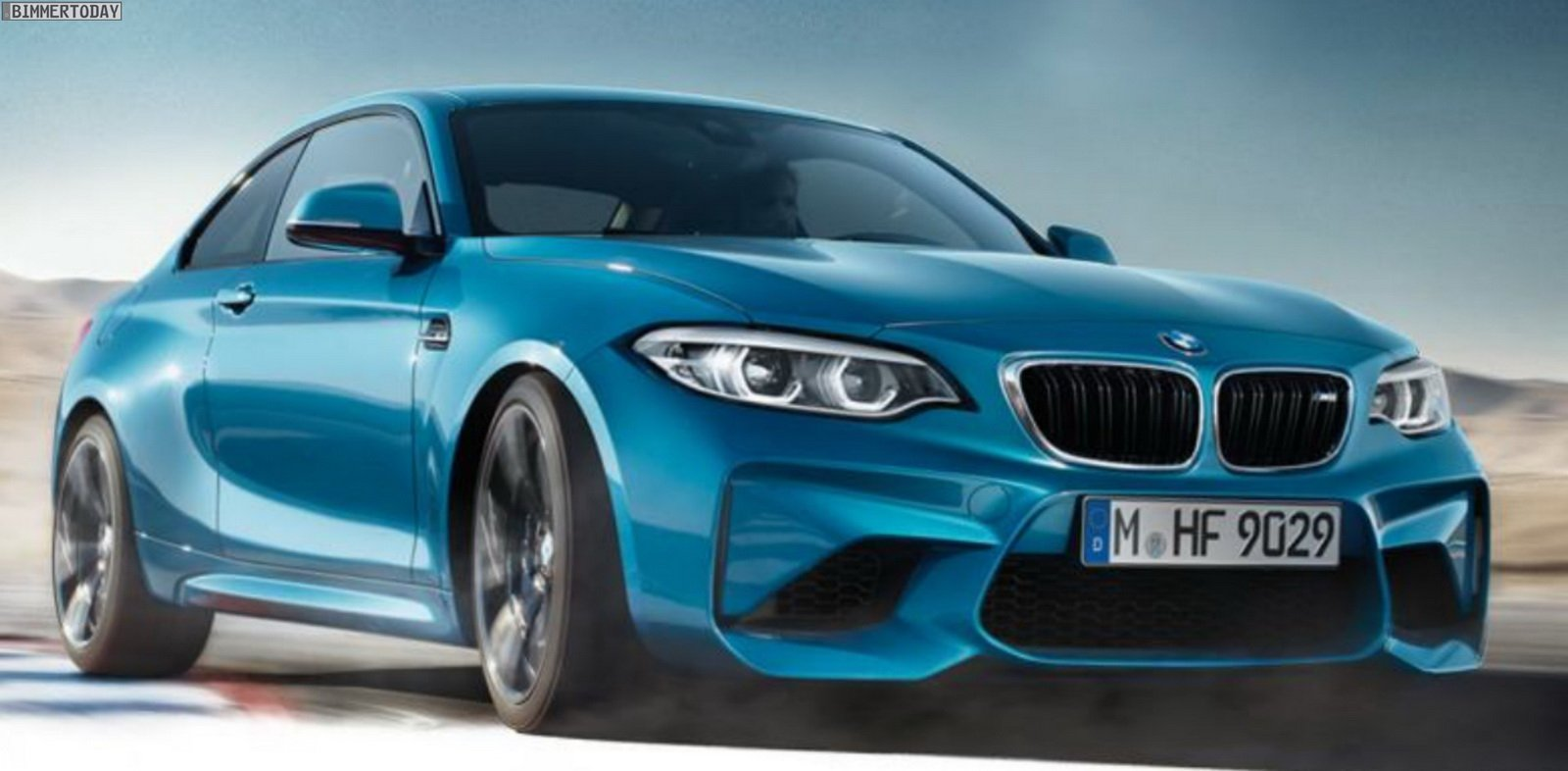 BMW M2 Facelift 2017