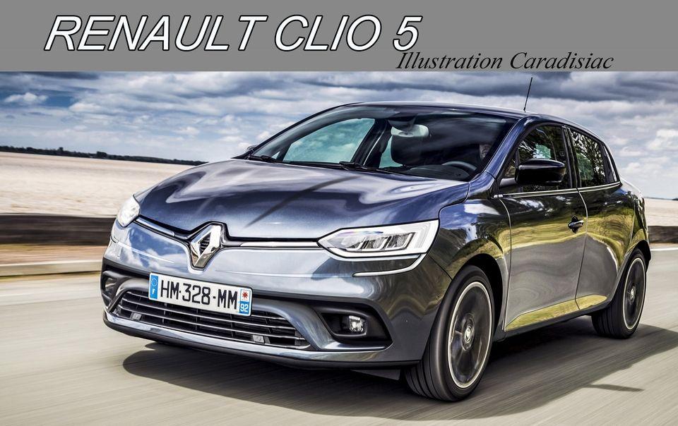 Clio render 2018