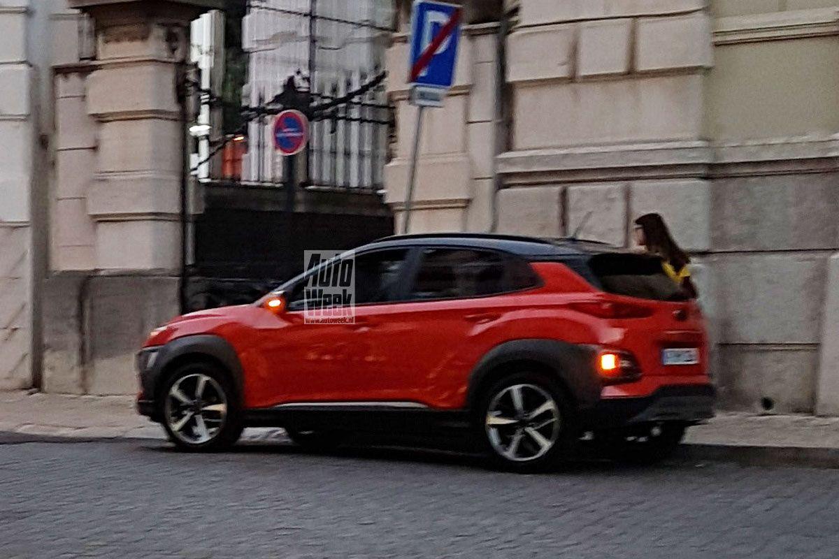 Hyundai Kona no camoflo