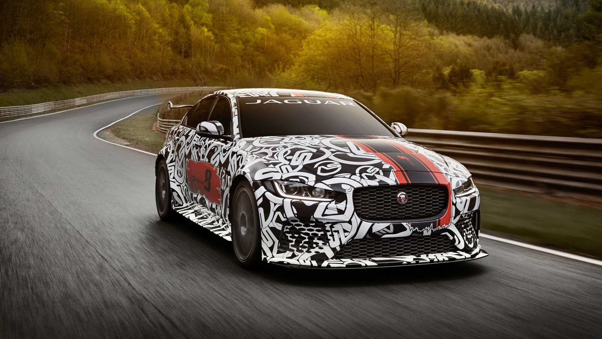 jaguar xe sv project 8 oficjalnie motofilm. Black Bedroom Furniture Sets. Home Design Ideas