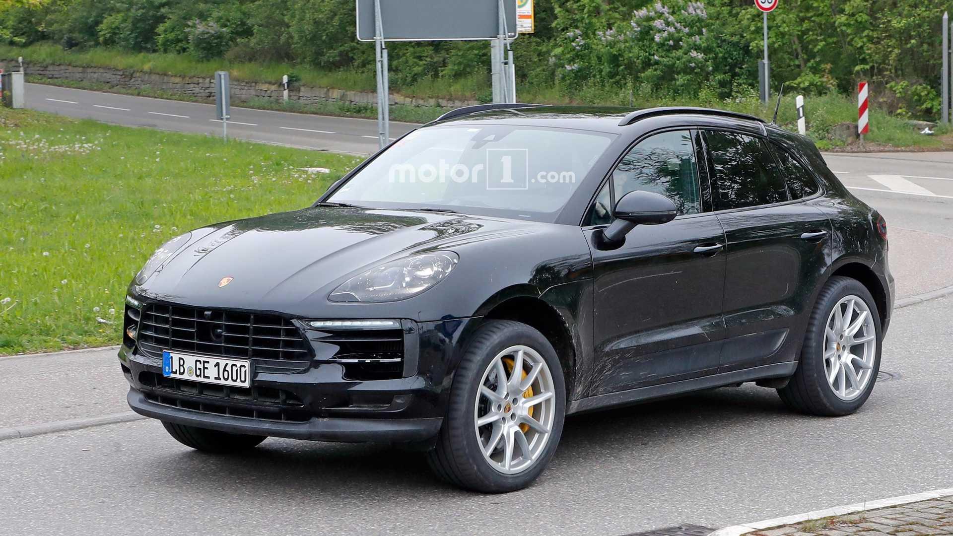 Porsche Macan SPY 2018