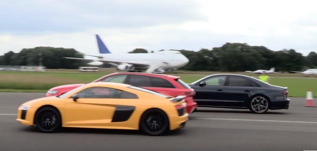 Audi R8 V10 Plus vs RS6 vs S8
