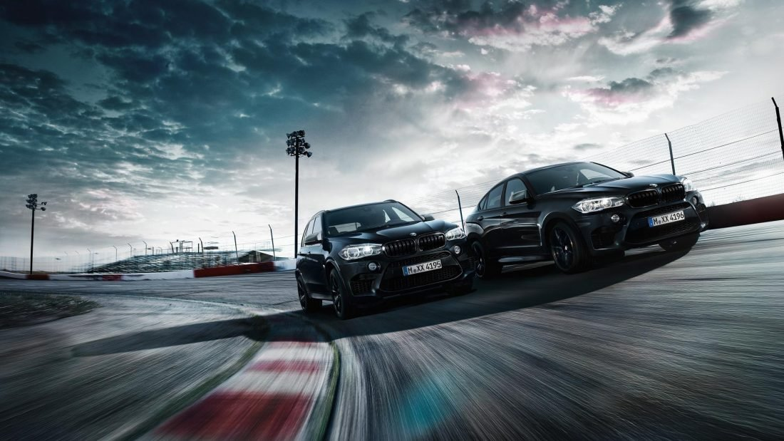 BMW X6M i X5M Black Fire Edition