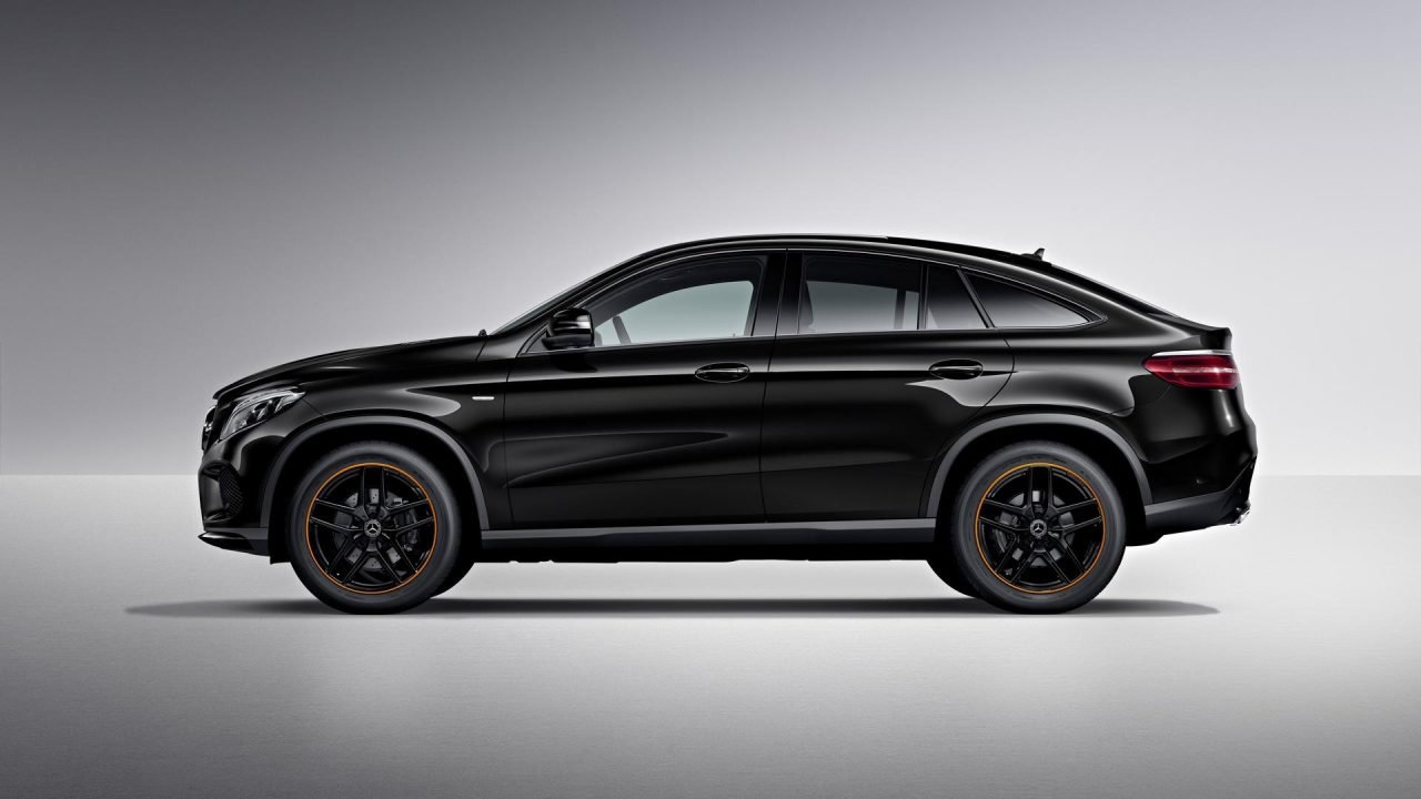 Mercedes-Benz GLE Coupe OrangeArt Edition