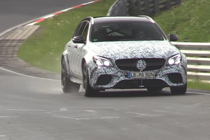 Nurburgring Mercedes-AMG E63S