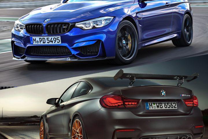 BMW M4 CS vs GTS