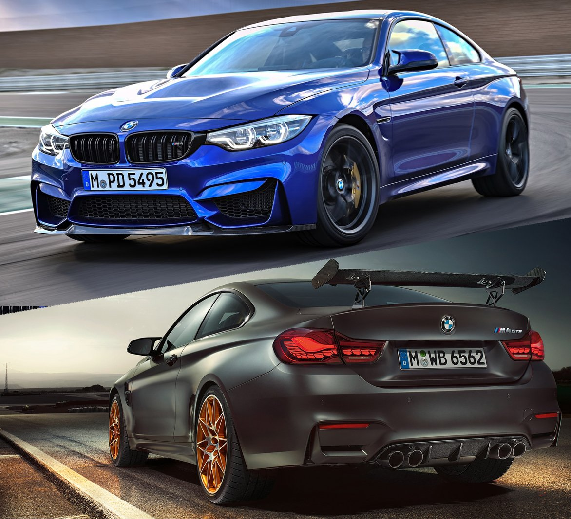 BMW M4 CS vs GTS