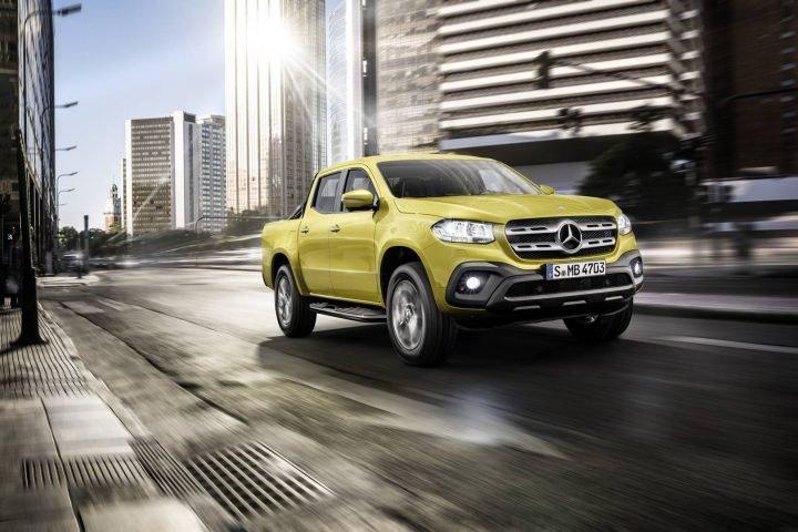 2017 Mercedes-Benz Klasy X