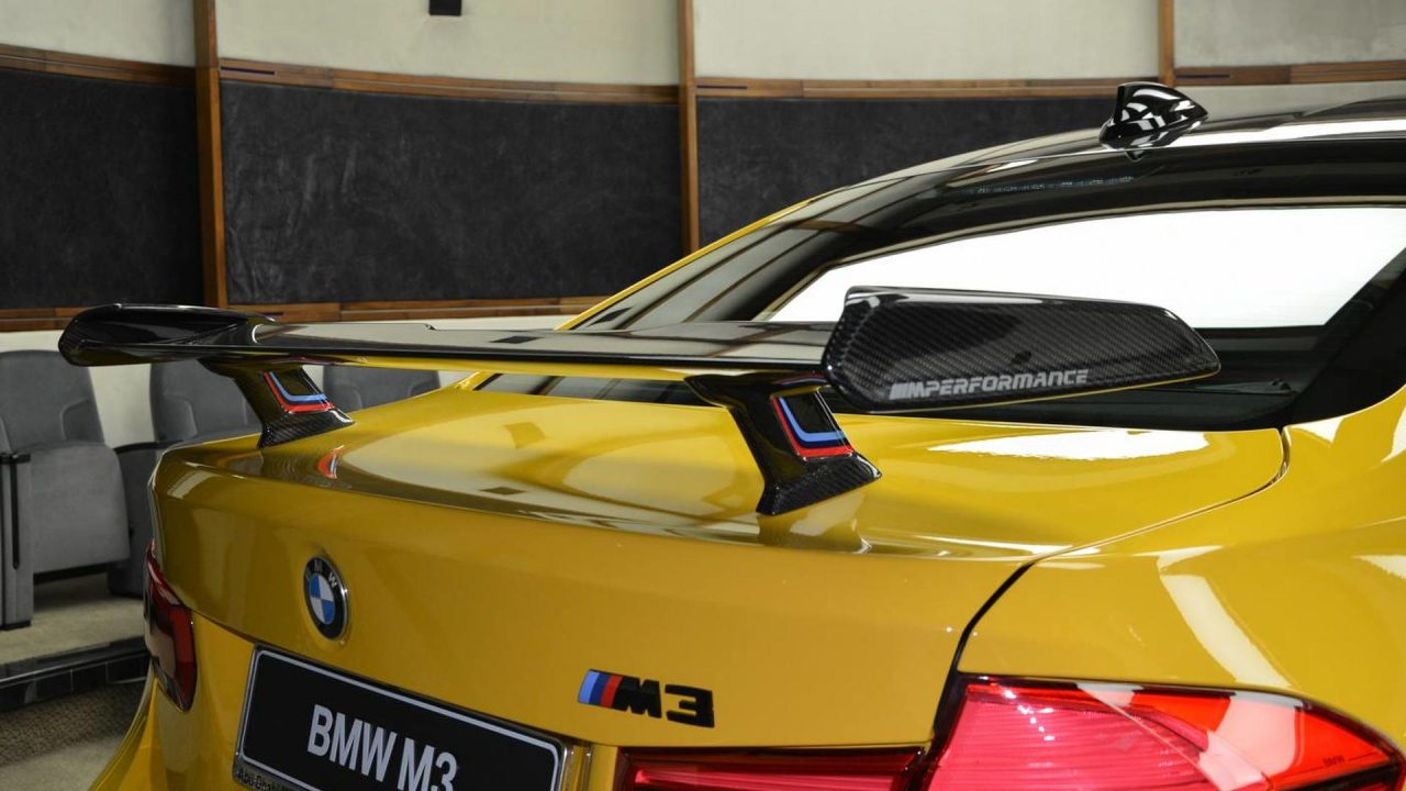 2017 BMW M3 Speed Yellow