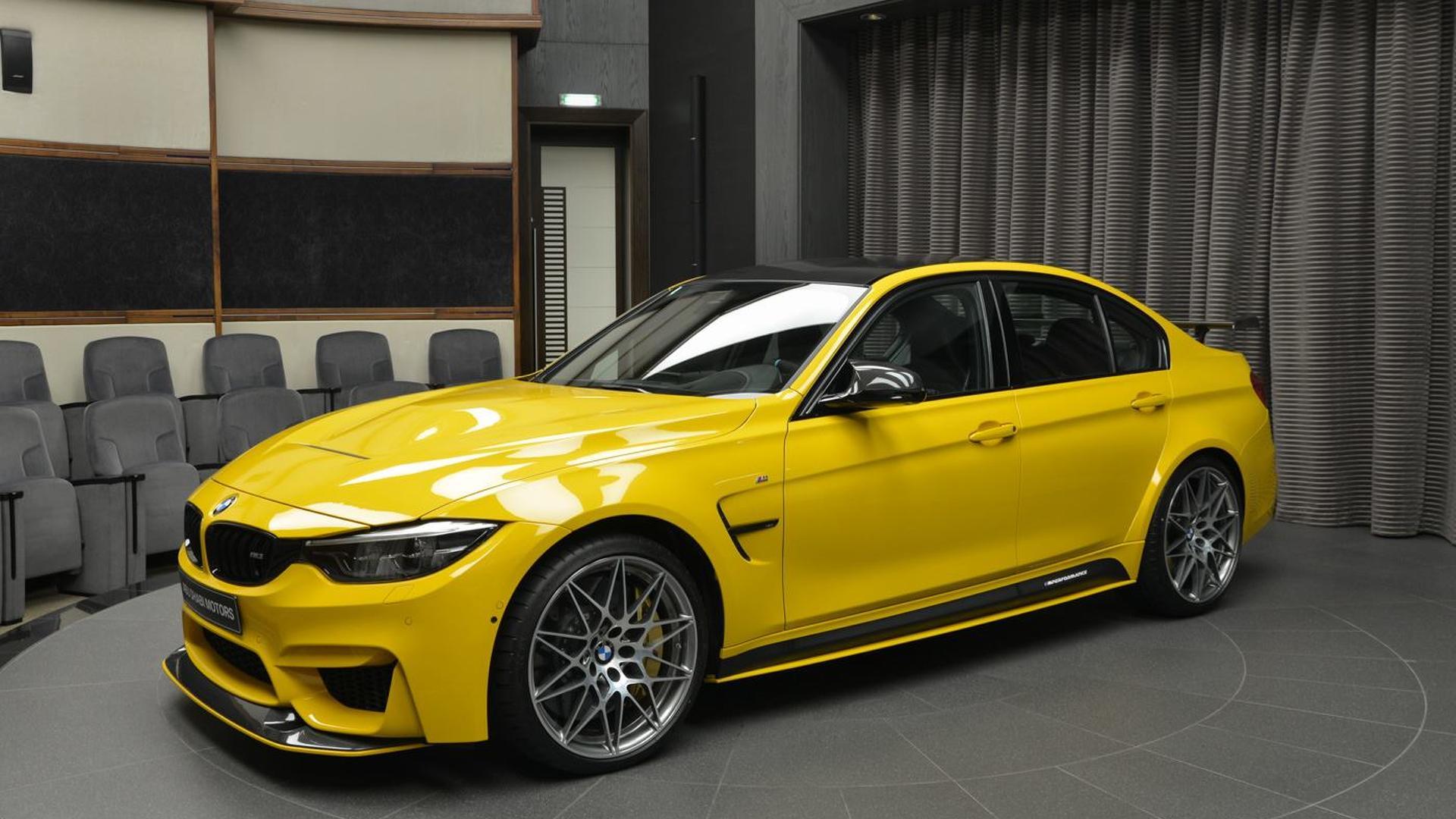 2017 BMW M3 Speed Yellow