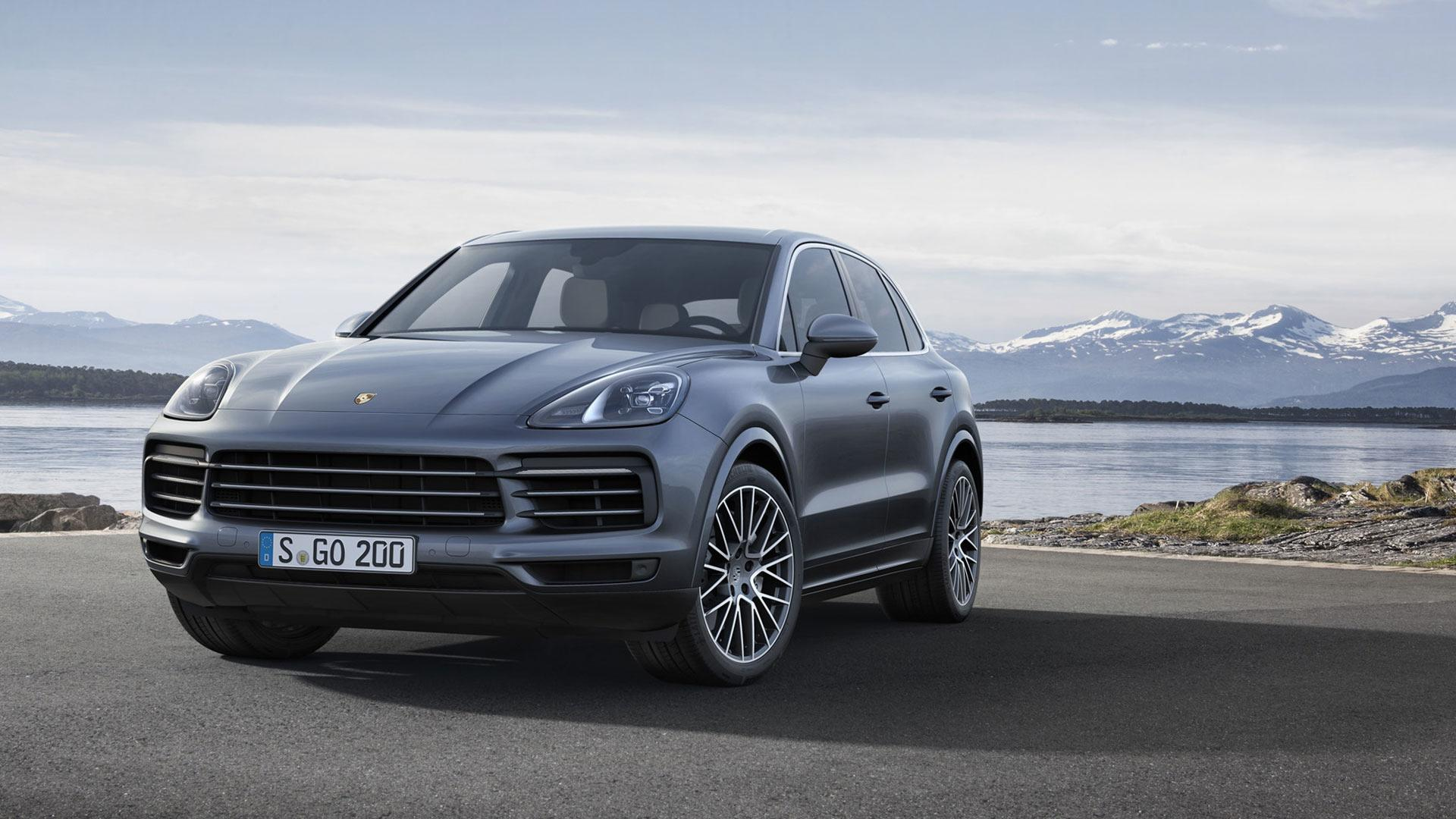 2018 porsche cayenne