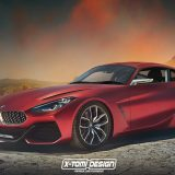 BMW Z4 Coupe Concept rendering